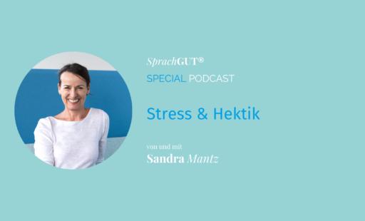 Podcast Stress und Hektik